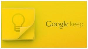 Google Keep uygulaması