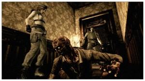 Resident Evil HD Remastered oyunu ve karekterleri