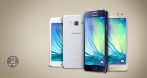 Samsung Galaxy A tasarım