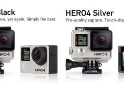 GoPro Hero 4 Black ve Hero 4 Silver