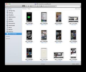 MAC Ekran Alıntıları Nereye Gider?