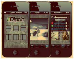 Diptic iPhone kamera uygulaması