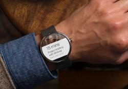 Google'dan Giyilebilir Android