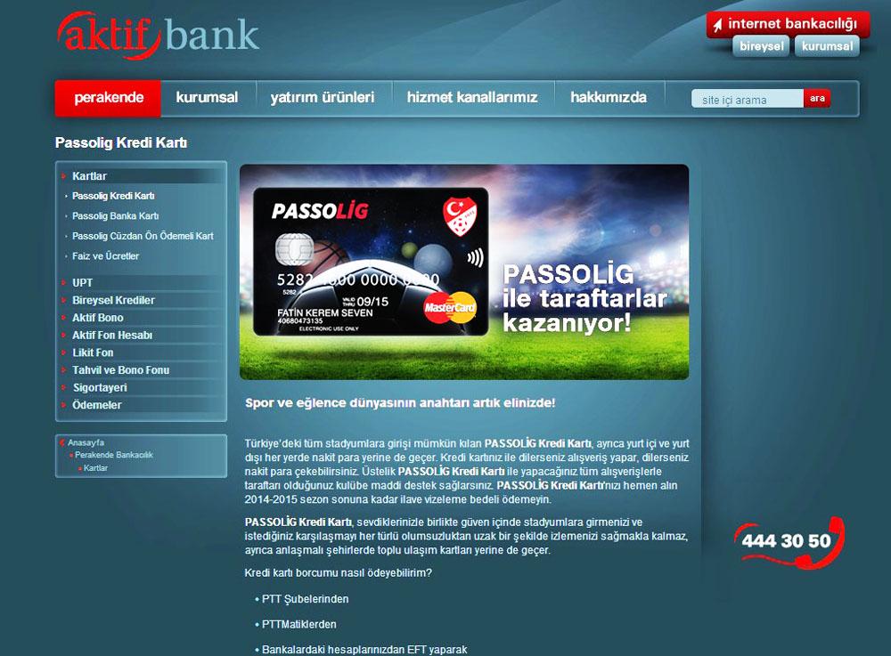 passolig banka kartý