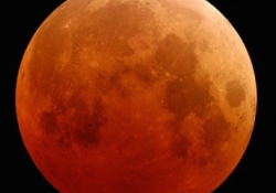 28 Eylül 2015 Tam Ay Tutulması
