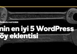 2017'nin en iyi 5 WordPress portföy eklentisi