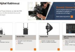 Sony, 1,2 m düşük ses gecikmesiyle, yeni nesil DWX Serisi dijital kablosuz mikrofon sistemi