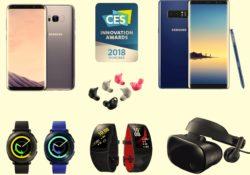 Samsung,  Üstün Tasarım Anlayışı İle CES 2018 İnovasyon Ödülleri'nde 36 Ödülle Onurlandırıldı