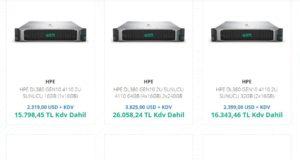 En Çok Kullanılan Server Markaları