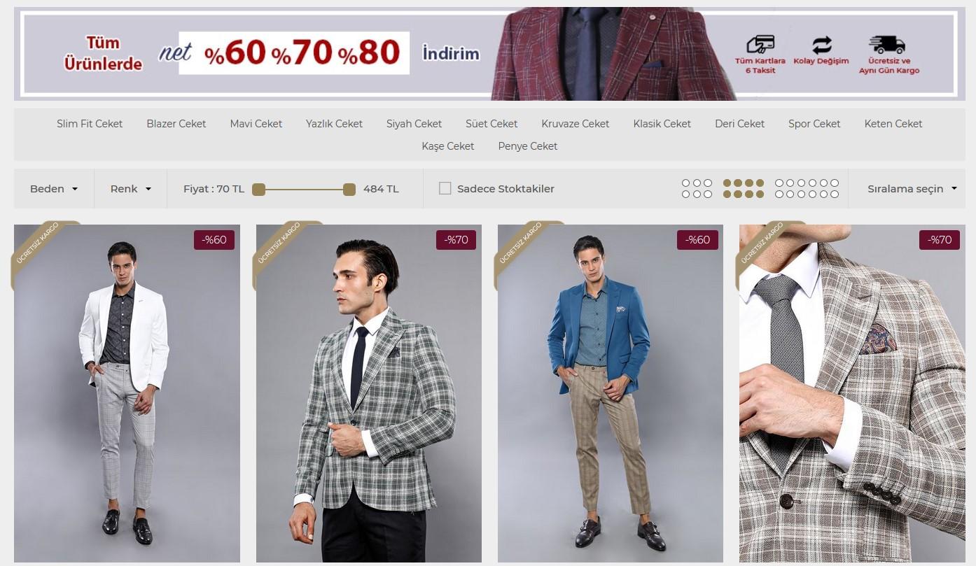 erkek ceket modelleri